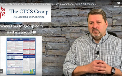 Protect your business by taking the time to ensure you are in compliance with 2020 changes