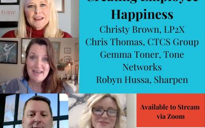 "Launchpad2x Webinar ""Creating Employee Happiness"""